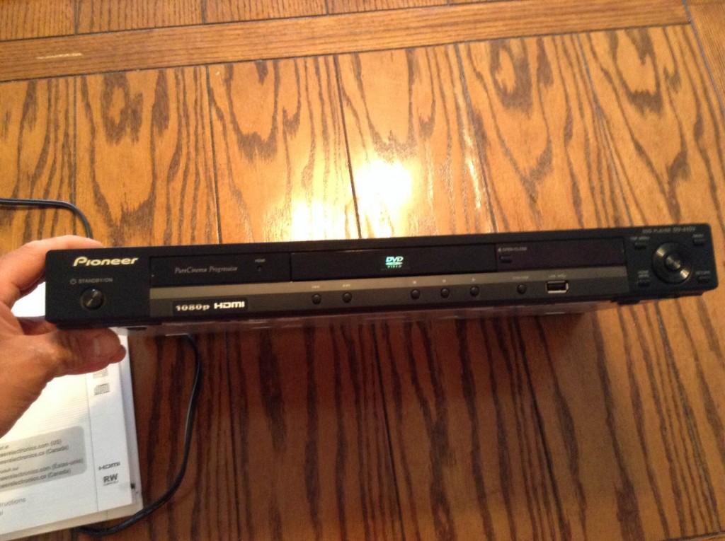 Upscaling DVD Player
